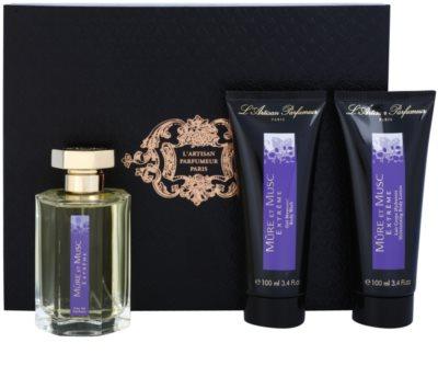 L'Artisan Parfumeur Mure et Musc Extreme coffret presente