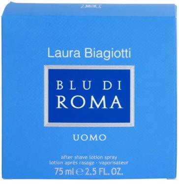 Laura Biagiotti Blu Di Roma UOMO after shave pentru barbati 4
