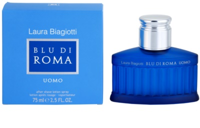 Laura Biagiotti Blu Di Roma UOMO after shave pentru barbati