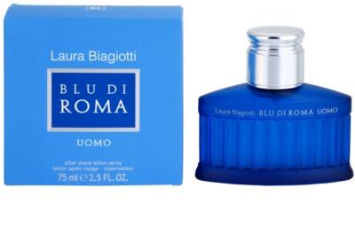 Laura Biagiotti Blu Di Roma UOMO loción after shave para hombre