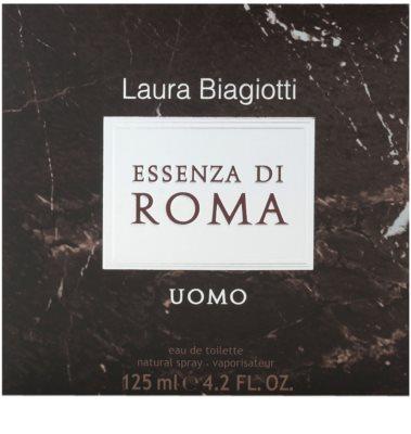Laura Biagiotti Essenza di Roma Uomo Eau de Toilette para homens 4