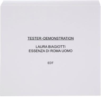 Laura Biagiotti Essenza di Roma Uomo toaletní voda tester pro muže 1