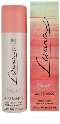 Laura Biagiotti Laura Rosé deodorant Spray para mulheres