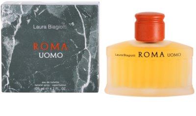 Laura Biagiotti Roma Uomo toaletná voda tester pre mužov 2