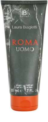 Laura Biagiotti Roma Uomo gel de duche para homens