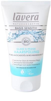Lavera Basis Sensitiv condicionador para cabelo normal a seco