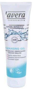 Lavera Basis Sensitiv очищуючий гель для шкіри