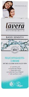 Lavera Basis Sensitiv зволожуючий денний крем для чутливої шкіри 2
