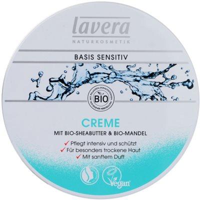 Lavera Basis Sensitiv Feuchtigkeitsspendende Tagescreme mit ernährender Wirkung für trockene Haut