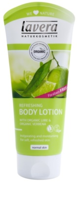 Lavera Body Spa Lime Sensation leite corporal