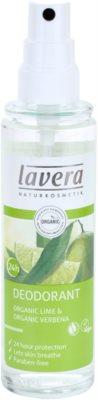 Lavera Body Spa Lime Sensation deodorant spray 1