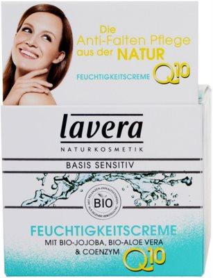 Lavera Basis Sensitiv Q10 creme hidratante antirrugas 3