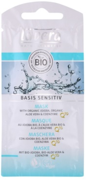 Lavera Basis Sensitiv Q10 mascarilla antiarrugas