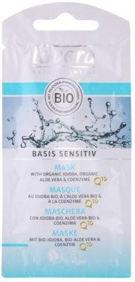 Lavera Basis Sensitiv Q10 маска  проти зморшок