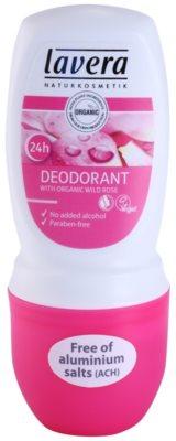 Lavera Body Spa Rose Garden дезодорант кульковий