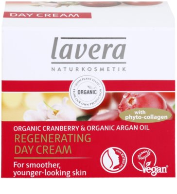 Lavera Faces Bio Cranberry and Argan Oil nappali regeneráló krém 45+ 1