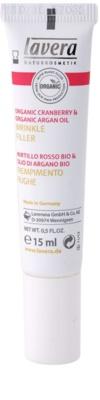 Lavera Faces Bio Cranberry and Argan Oil crema con efecto relleno para contorno de ojos y labios