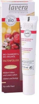 Lavera Faces Bio Cranberry and Argan Oil krem uzupełniający okolice oczu i usta 2