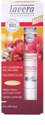 Lavera Faces Bio Cranberry and Argan Oil krem uzupełniający okolice oczu i usta 3