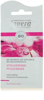 Lavera Faces Bio Wild Rose máscara revitalizadora para pele seca