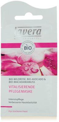 Lavera Faces Bio Wild Rose mascarilla revitalizante para pieles secas