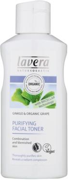 Lavera Faces Cleansing oczyszczający tonik do skóry tłustej i mieszanej