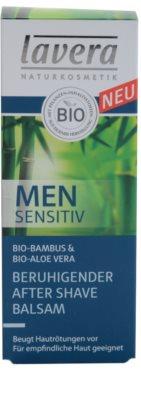 Lavera Men Sensitiv balsam calmant dupa barbierit 2