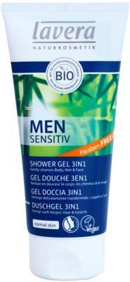 Lavera Men Sensitiv sprchový gél 3v1
