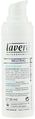 Lavera Neutral fluido hidratante para pele sensível 2