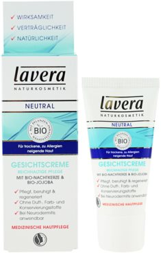 Lavera Neutral creme de dia para pele sensível 1