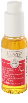 Lavera Organic Cranberry & Organic Argan Oil olejek regenerujący przeciw starzeniu się skóry