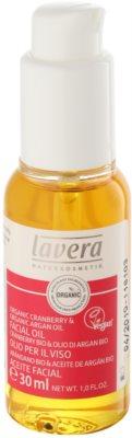 Lavera Organic Cranberry & Organic Argan Oil regenerační olej proti stárnutí pleti
