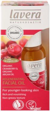 Lavera Organic Cranberry & Organic Argan Oil olejek regenerujący przeciw starzeniu się skóry 1