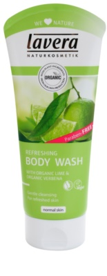 Lavera Body Wash Refreshing gel de duche