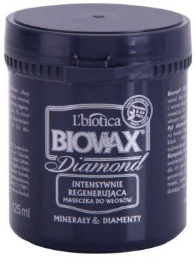 L'biotica Biovax Glamour Diamond stärkende Maske für ein perfektes Aussehen der Haare