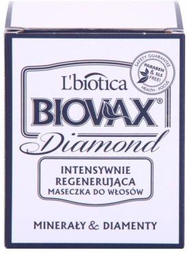 L'biotica Biovax Glamour Diamond stärkende Maske für ein perfektes Aussehen der Haare 2