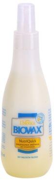L'biotica Biovax Blond Hair kétfázisú hidratáló spray szőke hajra