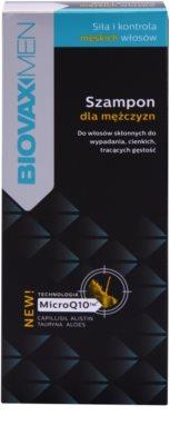 L'biotica Biovax Men зміцнюючий шампунь для росту та зміцнення волосся від корінців до самих кінчиків 2