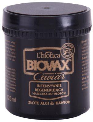 L'biotica Biovax Glamour Caviar máscara restauradora nutritiva com caviar
