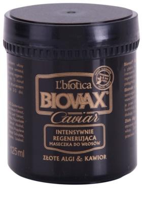 L'biotica Biovax Glamour Caviar tápláló regeneráló maszk kaviárral