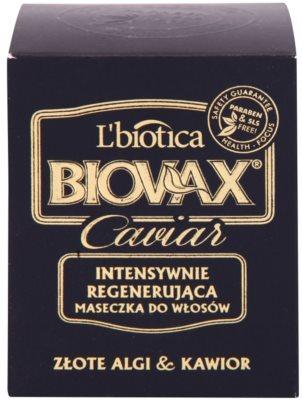 L'biotica Biovax Glamour Caviar nährende, regenerierende Maske mit Kaviar 2