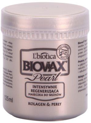 L'biotica Biovax Glamour Pearl mascarilla regeneradora para aportar hidratación y brillo