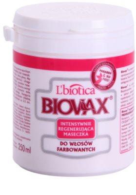 L'biotica Biovax Colored Hair maseczka regenerująca do włosów farbowanych