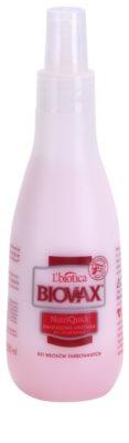 L'biotica Biovax Colored Hair spray hidratante bifásico para cabelo pintado