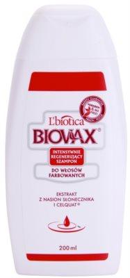 L'biotica Biovax Colored Hair tápláló sampon festett hajra