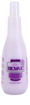 L'biotica Biovax Dark Hair 2-Phasen Feuchtigkeits Spray für braune und schwarze Haare