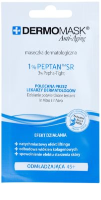 L'biotica DermoMask Anti-Aging pomlajevalna maska 45+