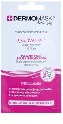 L'biotica DermoMask Anti-Aging masca tonifianta pentru bărbie 40+