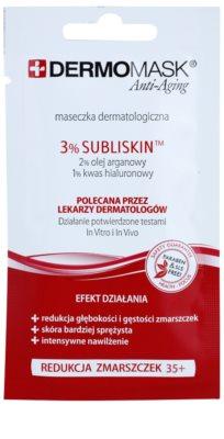 L'biotica DermoMask Anti-Aging mascarilla facial con efecto antiarrugas 35+