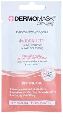 L'biotica DermoMask Anti-Aging Re-Plumping maszk 40+